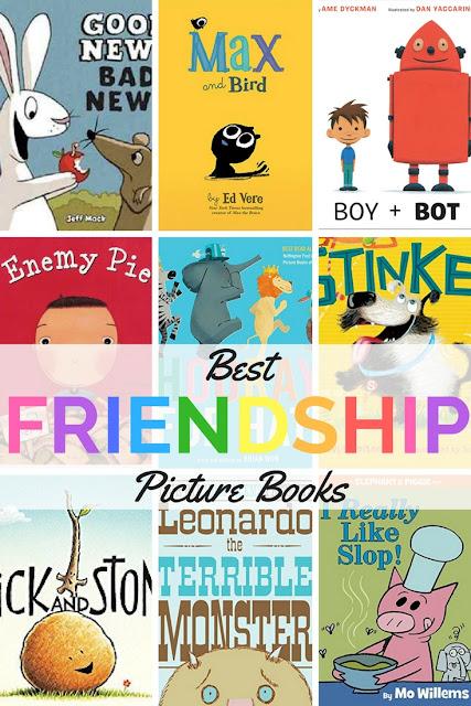 Best Picture Books about Friendship #childrenslit #picturebooks #friendship