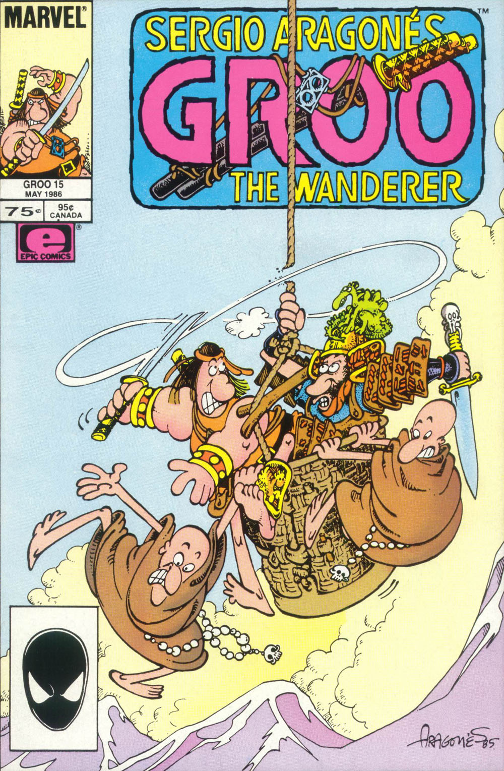 Read online Sergio Aragonés Groo the Wanderer comic -  Issue #15 - 1