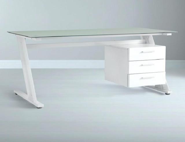 best buy John Lewis white office furniture modern for sale