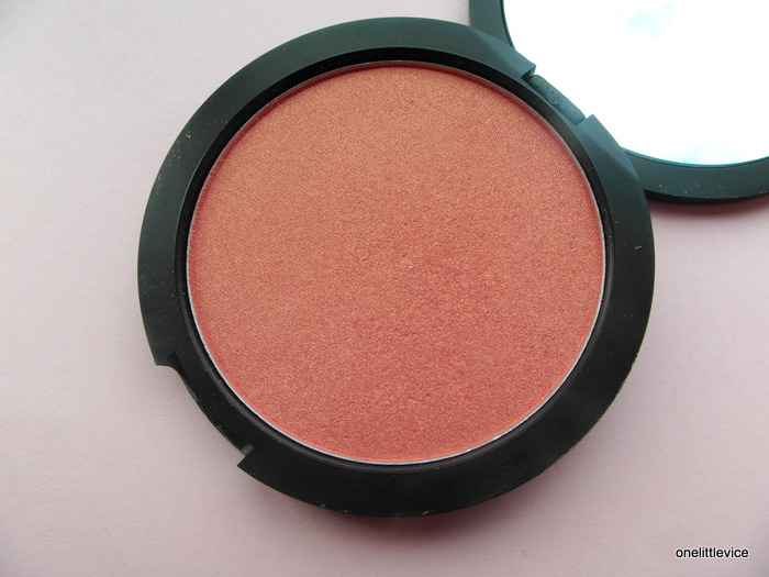dainty doll powder blusher orange county girl shade review swatch