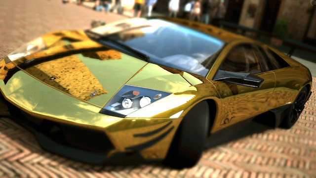 Lamborghini Murcielago LP670 4 SV Gold Version