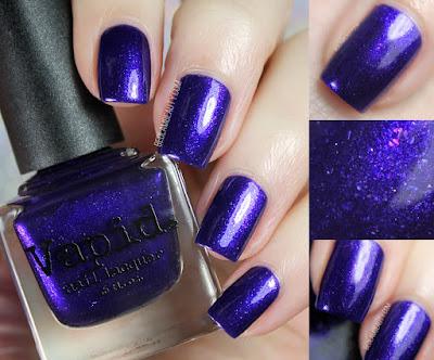 Vapid Lacquer Violet <3's Snowflakes