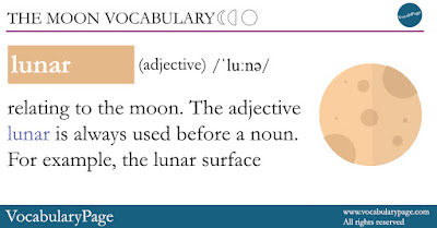 The Moon Vocabulary - Lunar