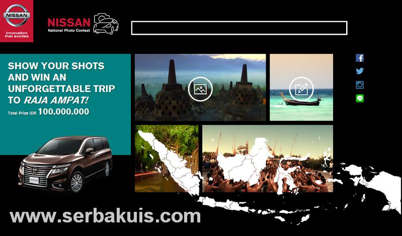 Nissan National Photo Contest Berhadiah 3 Trip ke Raja Ampat