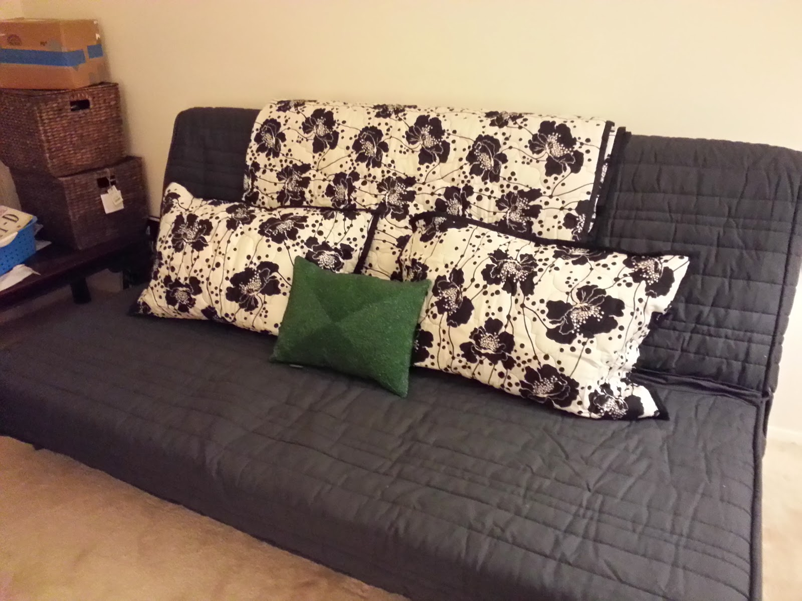 Sofa Bed Guest Room Ideas Posh Purpose Guest Bedroom Update Ikea Karlaby Purchase