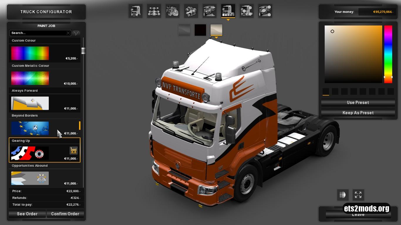 Truck - Renault Premium NVP Transporte