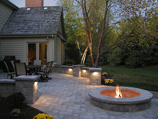 Fire Pits, fire pit, landscaper, Milwaukee landscaping, landscape companies, landscapers in