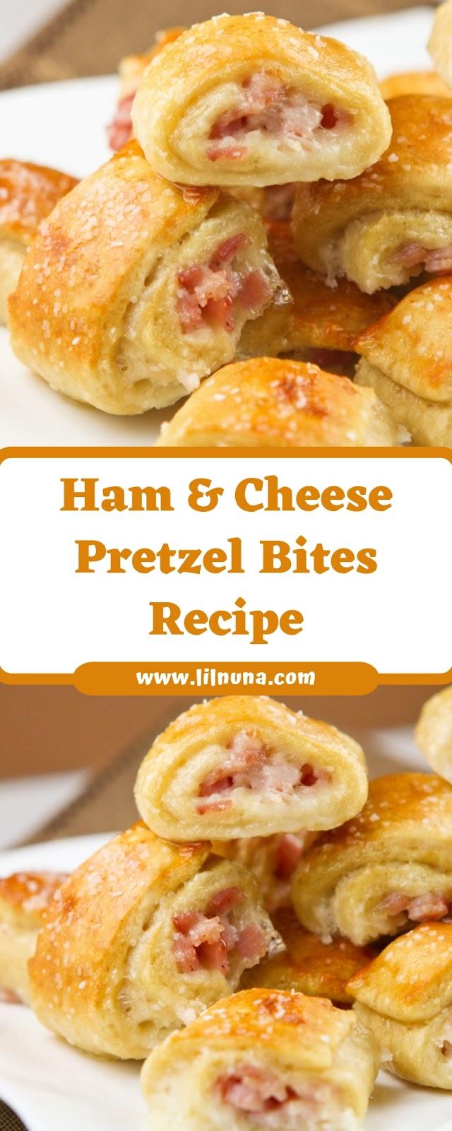 Ham & Cheese Pretzel Bites Recipe
