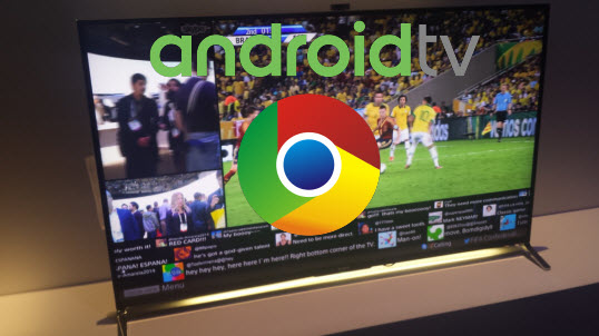 How to download google chrome on sony bravia smart tv
