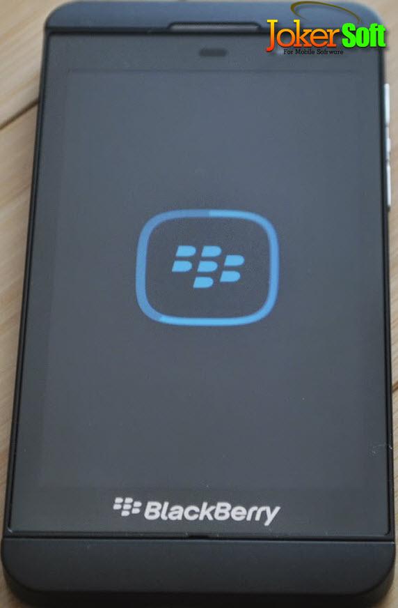 طريقة تحديث هاتف Blackberry Z10 وحل مشكلة الشاشة السوداء