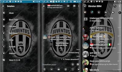 BBM Mod Juventus F.C Transparan V3.2.2.8 Apk