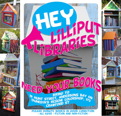 Lilliput Libraries need Book Donations