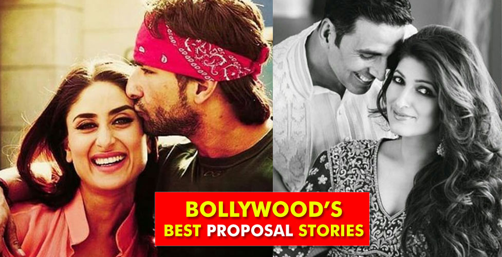 5 Bollywoods Best Proposal Stories Bollybytes