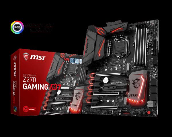 Spesifikasi dan Harga Motherboard MSI Z270 Gaming M7