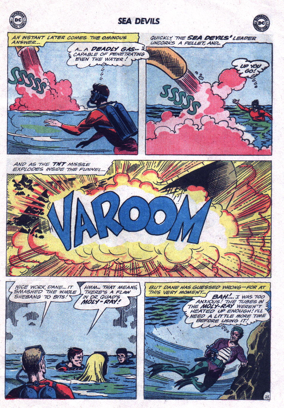 Read online Sea Devils comic -  Issue #21 - 29