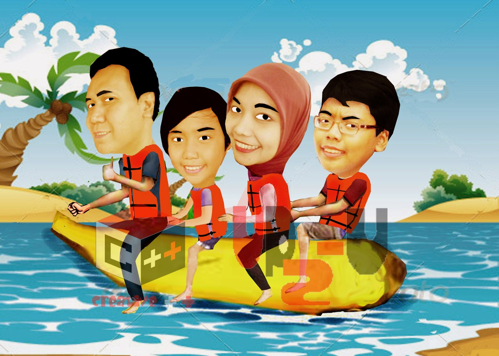 Up2 U Creative Design Karikatur Digital Galeri