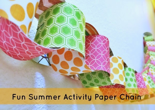Summer Activity Paper Chain The Pinning Mama