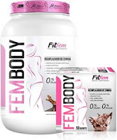 La whey protein Fem body ayuda a ganar masa muscular en mujeres