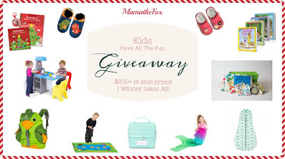 Enter the MamatheFox's Annual Gift Guide Giveaway Kids Edition. Ends 11/25