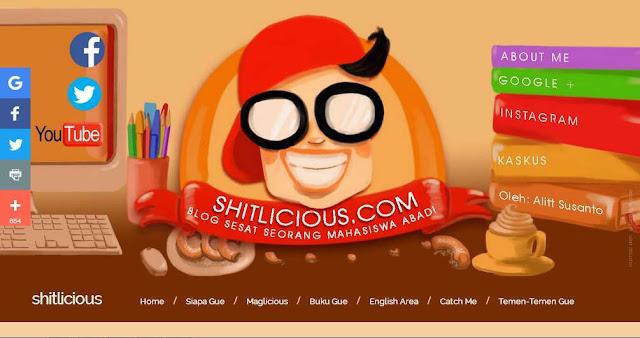 Shitlicious.com - Blog Pribadi Terbaik Di Indonesia