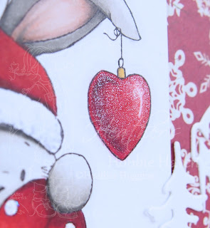 Heather's Hobbie Haven - With Love at Christmas Card Kit