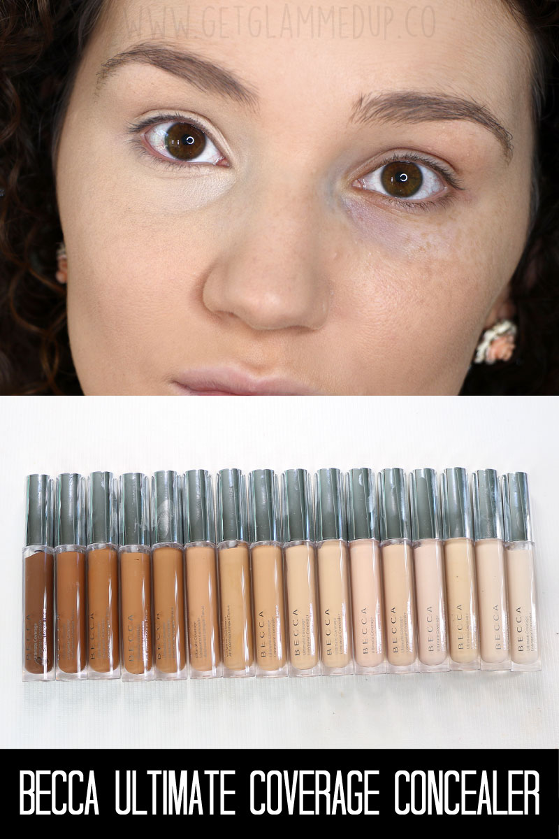 Becca Ultimate Coverage Longwear Concealer Review