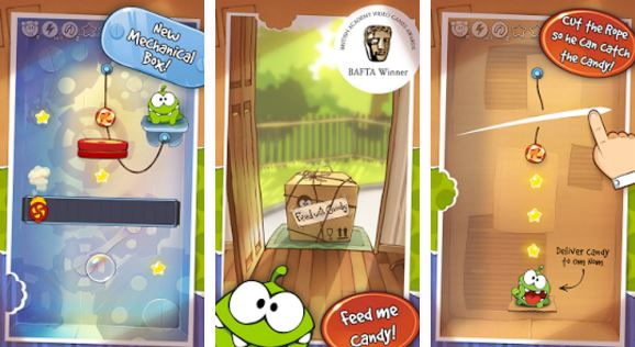 Cut The Rope: Experiments FREE Android Game