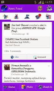 Facebook Mod Stitch apk