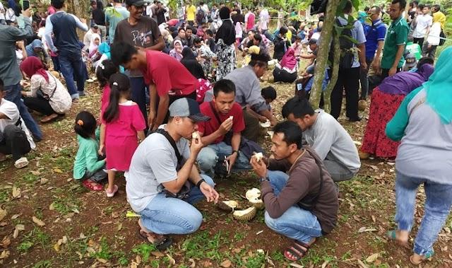 Gelar Festival Durian, Pemprov Bagikan 2.000 Durian Gratis