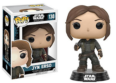 JUGUETES - FUNKO POP  Star Wars Rogue One  Jyn Erso : Figura - Muñeco  2016 | PELICULA | Disney  Comprar en Amazon España