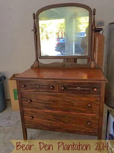 Dresser Redo before