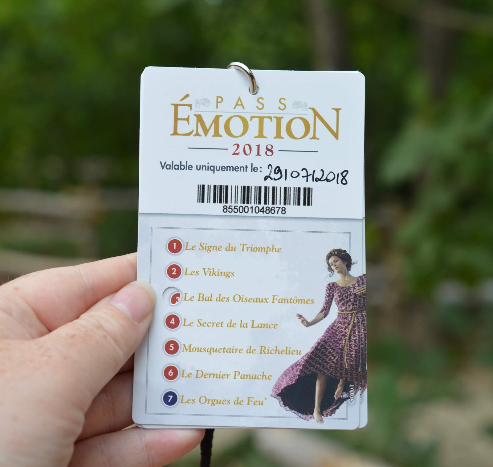 Puy du Fou Theme Park, France - - emotion fast track pass