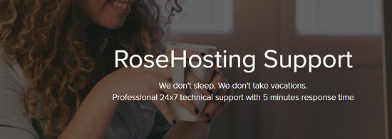 Support,Service,RoseHosting