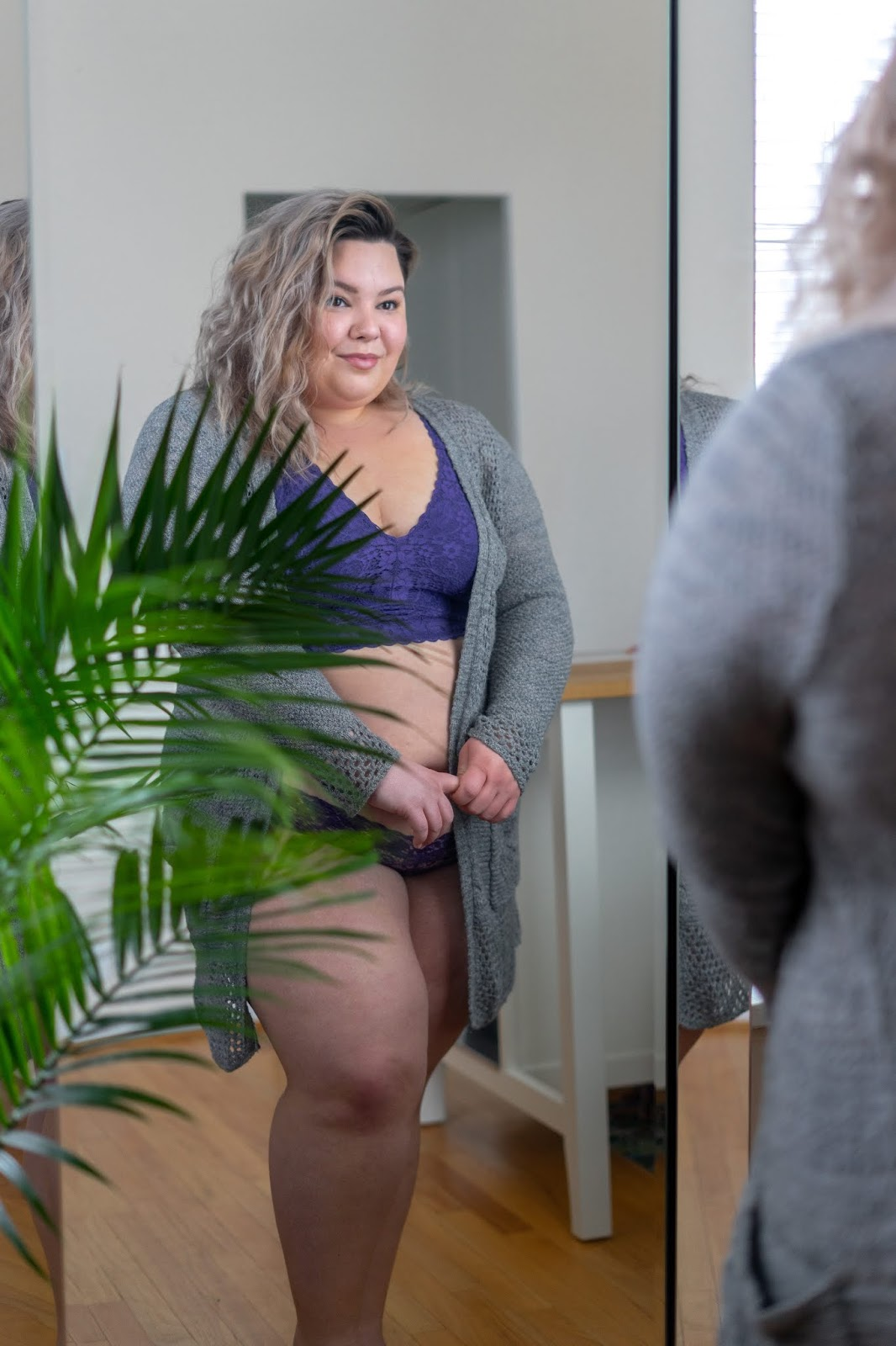 Chicago Plus Size Petite Fashion Blogger, YouTuber, and Model Natalie Craig, of Natalie in the City, shares how she builds confidence and some of her favorite lingerie