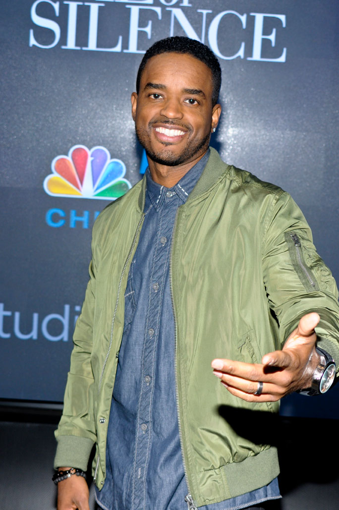 Larenz tate star of nbcs game of silence meet greet at studio we were glad to catch up with chicagos very own larenz tate while promoting nbcs game of silence at studio xfinity in chicago on monday april 4 m4hsunfo