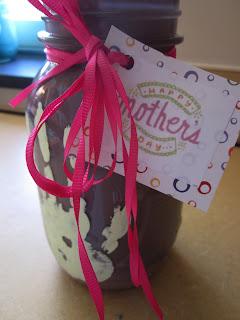 Mothers Day mason jar kids craft