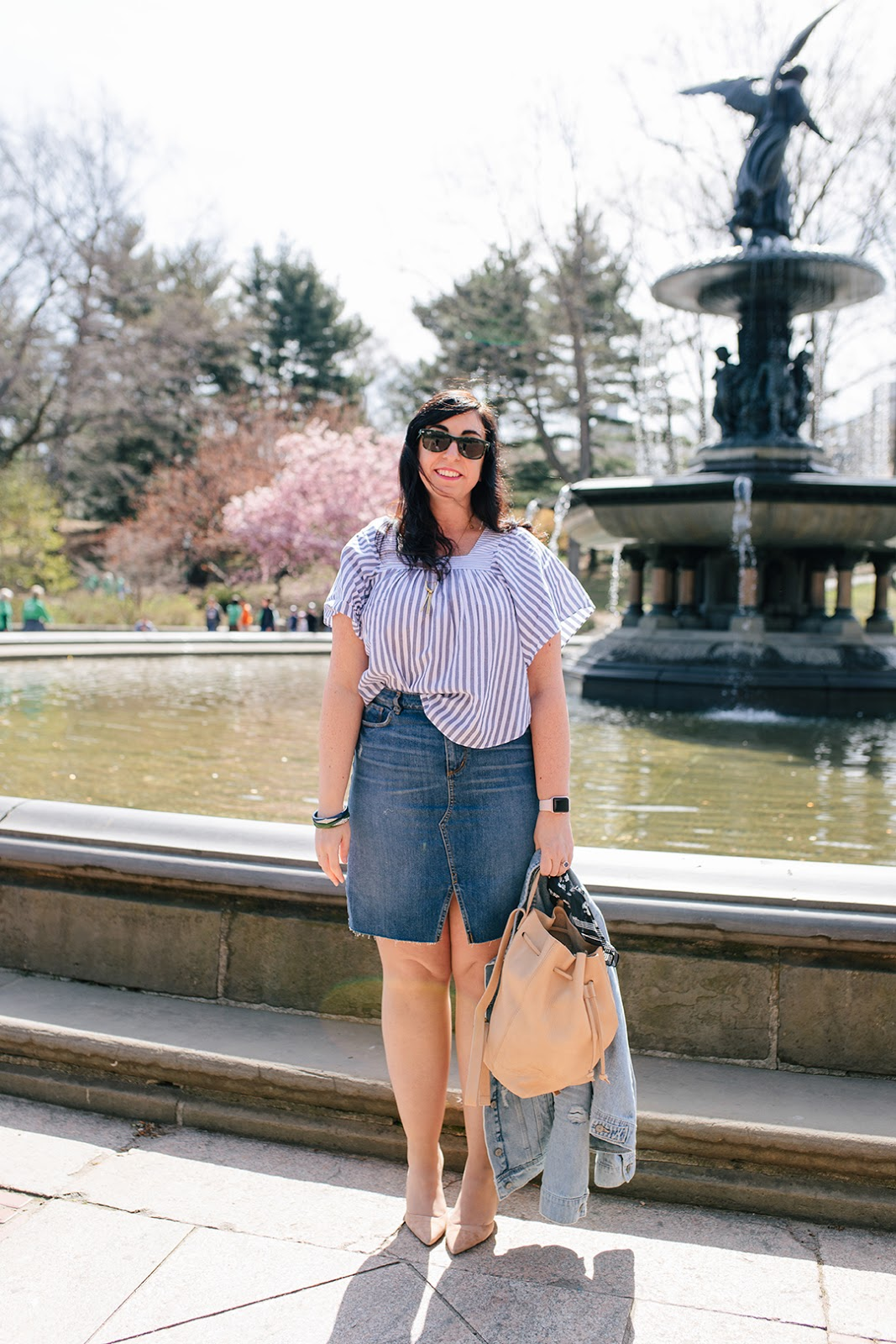 OOTD: Butterflies and Cherry Blossoms featuring Madewell :: Effortlessly with Roxy