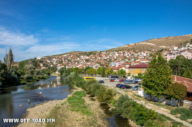 Vardar River - Veles city - Macedonia
