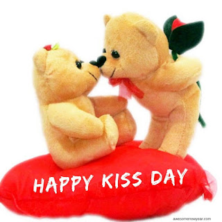 Passionate Happy Kiss Day Images