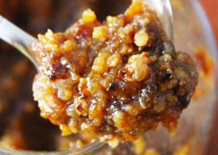 Смесь сухофруктов с медом