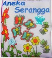 Mainan Edukasi dari Kain Aneka Serangga :