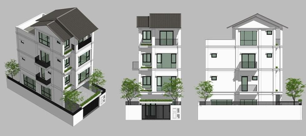 Mẫu thiết kế Liền Kề ST5 Gamuda Gardens