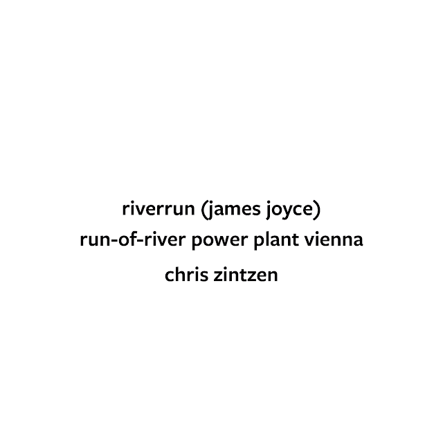 riverrun (james joyce) | run-of-river plant, vienna © Chris zintzen | panAm productions