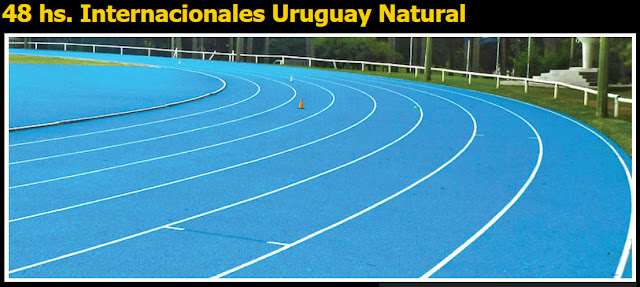 Ultramaratón en pista Uruguay Natural (48 - 24 - 12 y 6 horas, Montevideo, 04a06/may/2018)