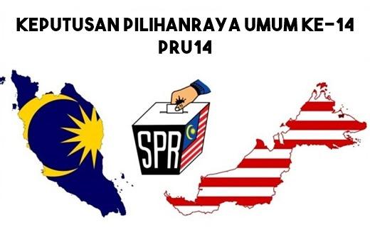 keputusan pru14 2018