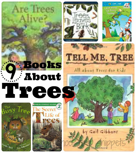 children's booklist about trees