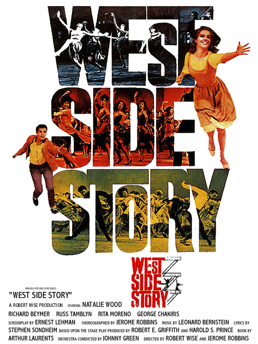 An analysis of the song america in the movie the west side story