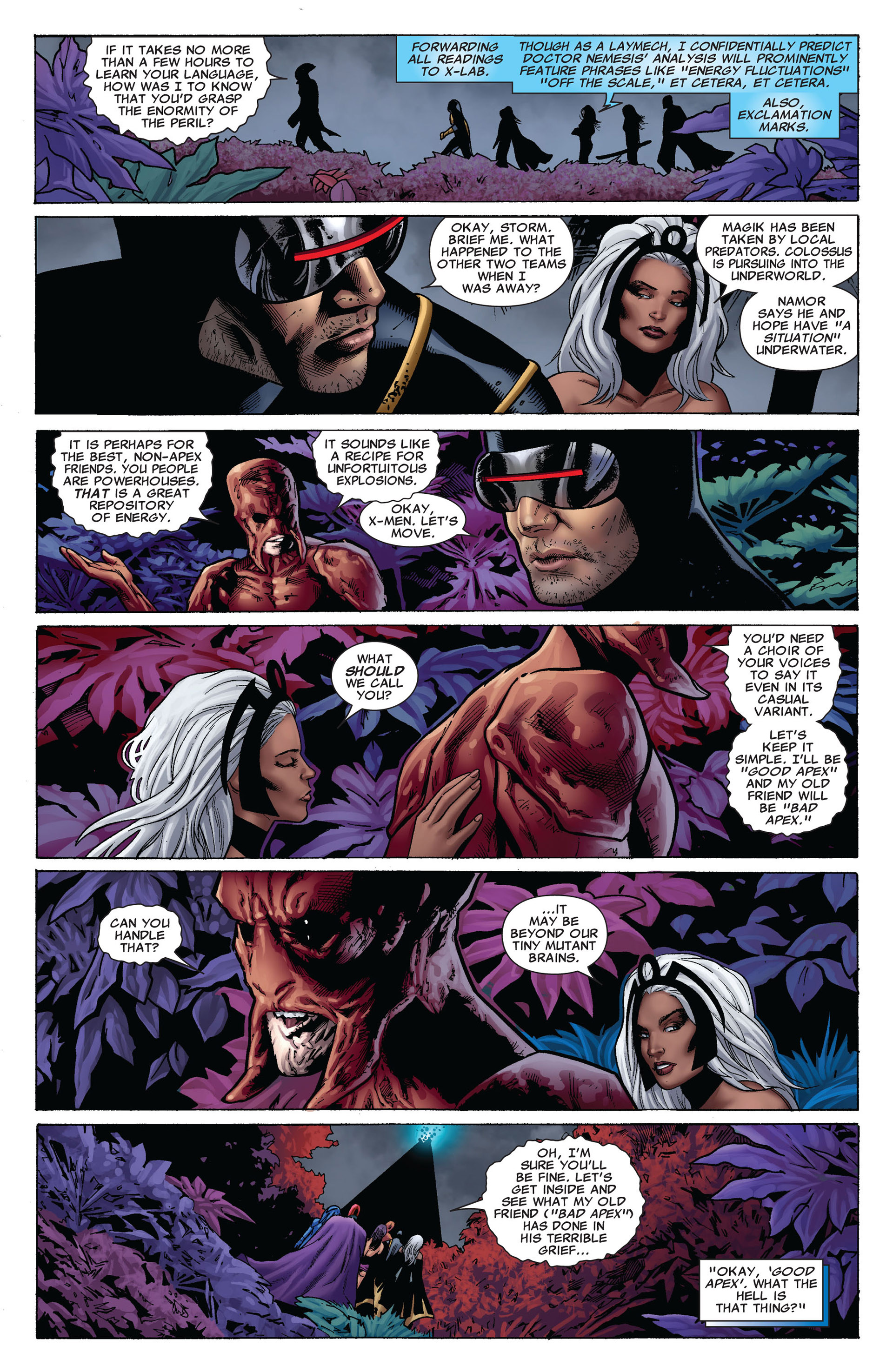 Read online Uncanny X-Men (2012) comic -  Issue #7 - 4