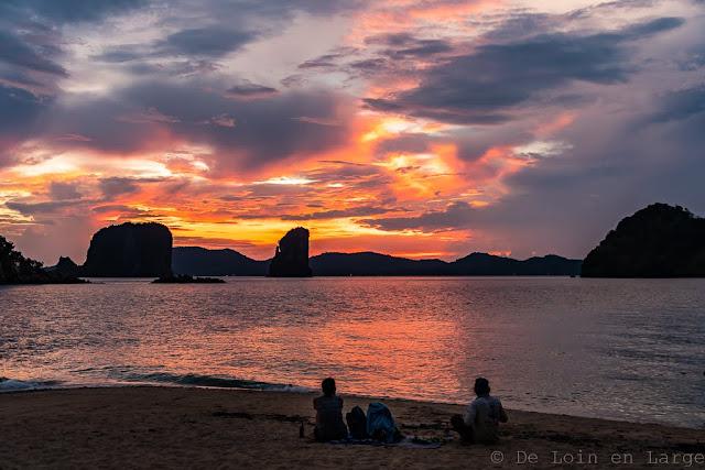 Sunset-Koh-Aleil-Koh-Pakbia-Koh-Yao-Noi-Thailande