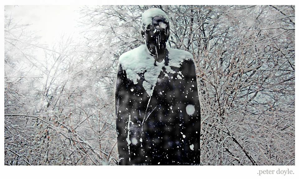 """Statue in Snow"" - Peter Doyle"